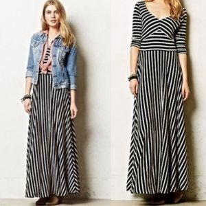 Anthr puella maxi dress